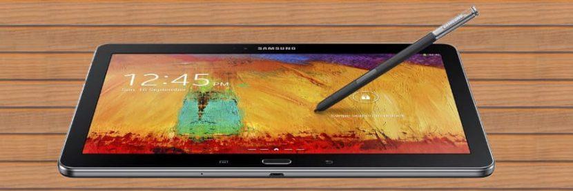 Samsung Galaxy Note met pen