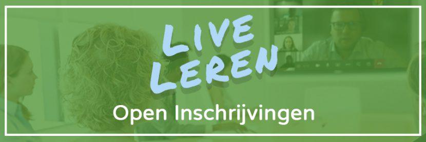 inschrijven live leren