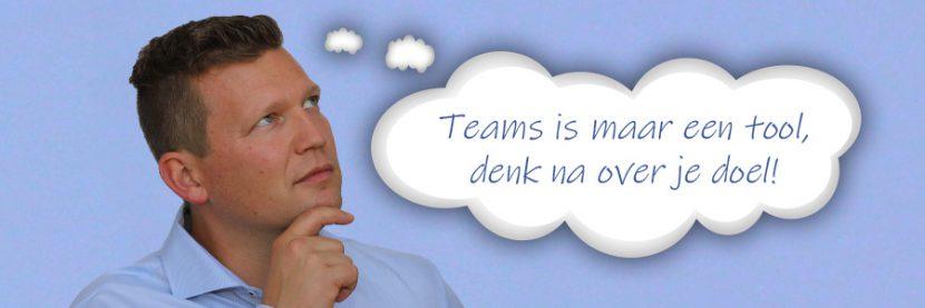 Van crisis naar samenwerken met Microsoft Teams